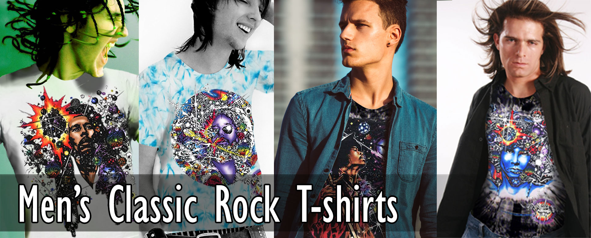 Men's Classic Rock T-shirts