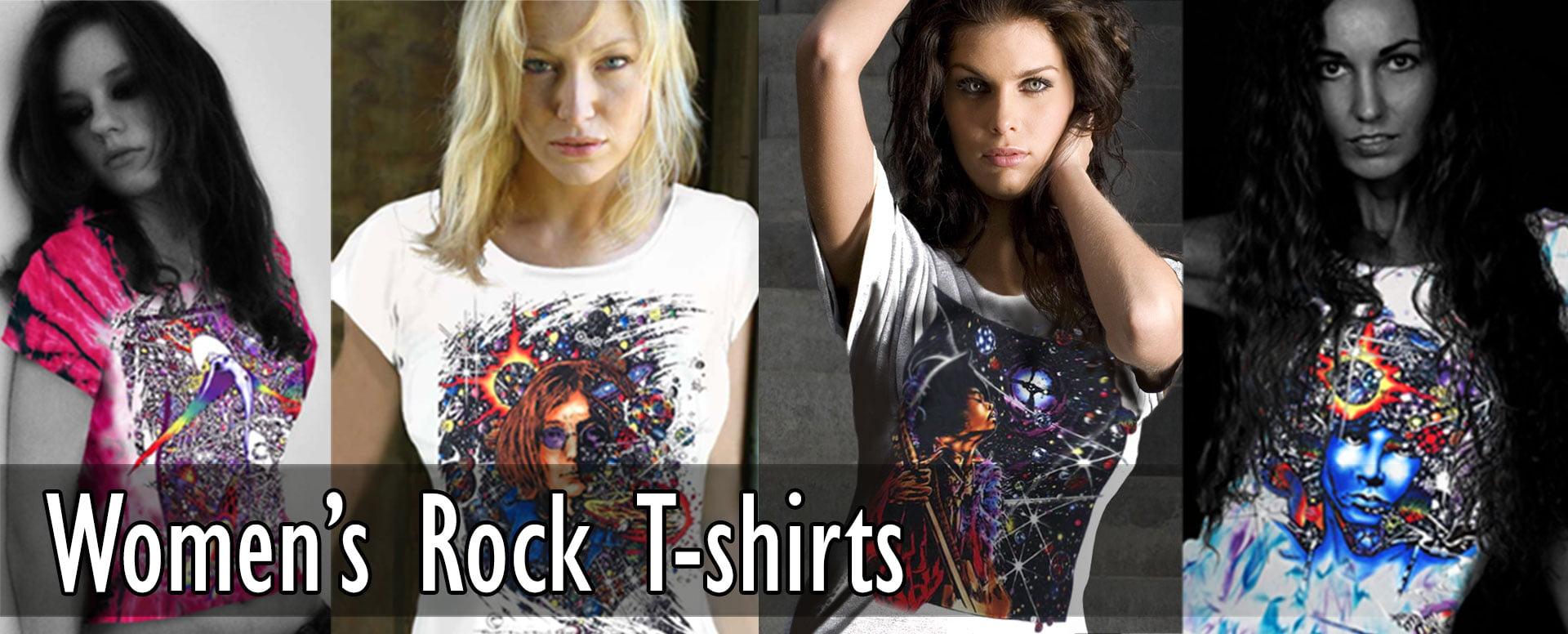 Women's Classic Rock T-shirts