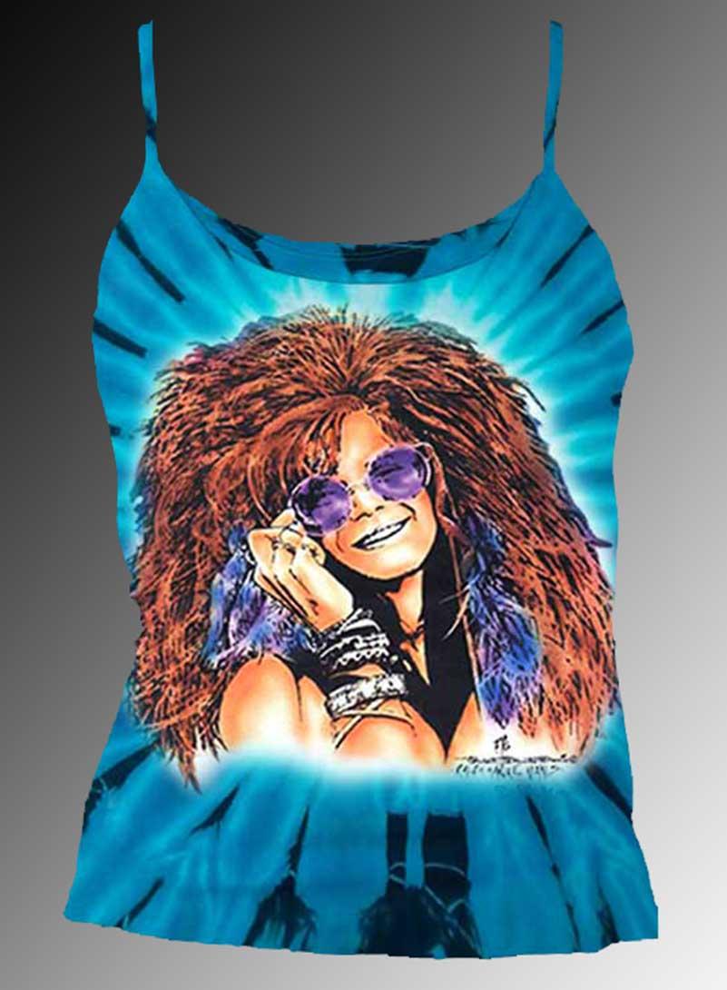Bluesy Mama Tank Top - Women's blue tie dye, 100% cotton sleeveless tank top.