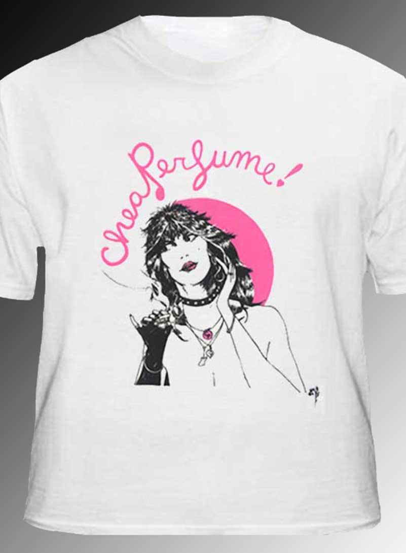 Cheap Perfume T-shirt - Men's white, 100% cotton crew neck cut, short sleeve tee.
