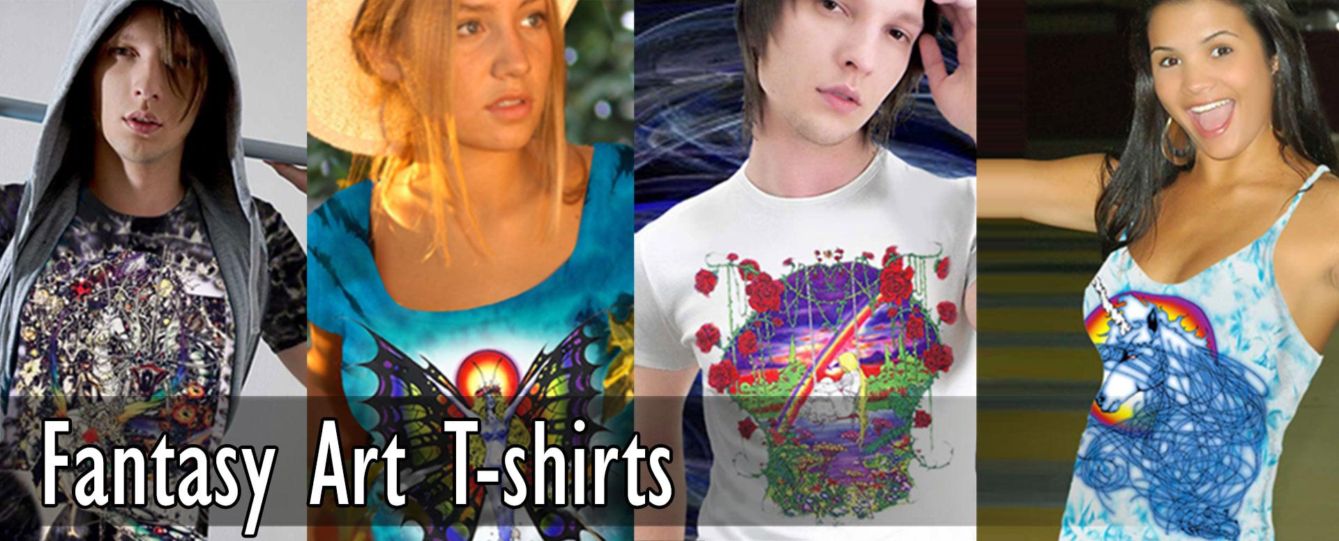 Fantasy Art T-shirts, Science Fiction Tees and Tank Tops