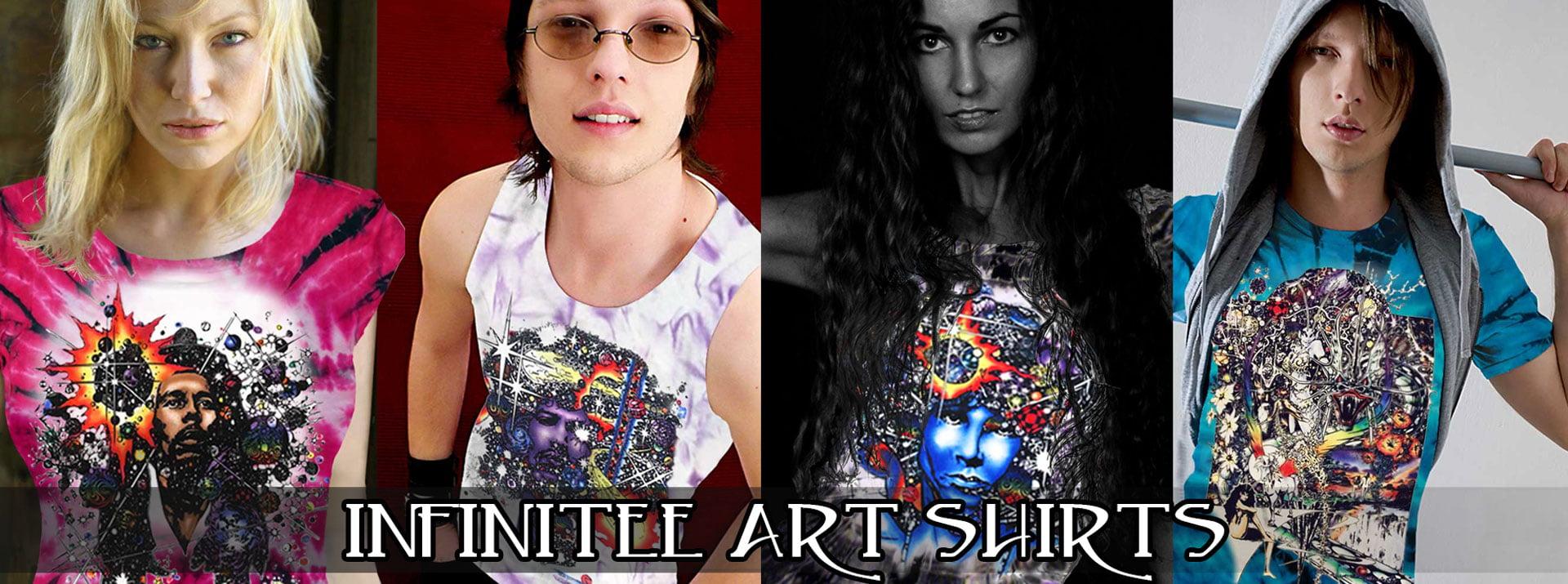 Infinitee Art Rock T-shirts