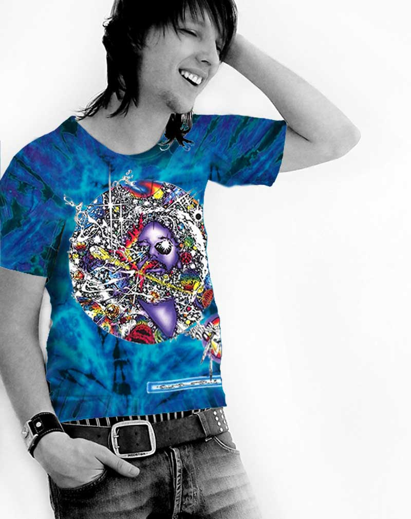 Jerry Garcia T-shirt Men's Inspired Mr. Fantasy