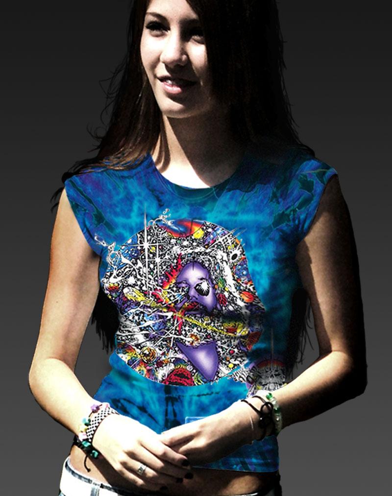 Jerry Garcia T-shirt Women's Inspired Mr. Fantasy