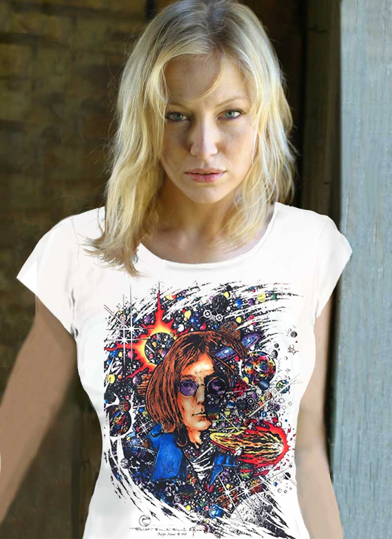 Number 9 - Inspired by John Lennon Women's White T-shirt