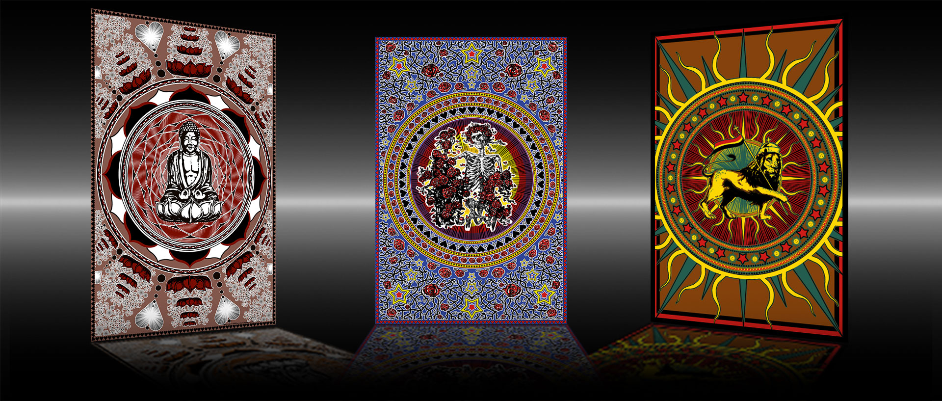 Tapestries, Bed Spreads & Wall Hangings