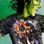 Rasta Mon – Men's black tie dye inspired by Bob Marley t-shirt