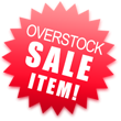 Overstocked Sale Item!