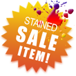 Stained Sale Item!