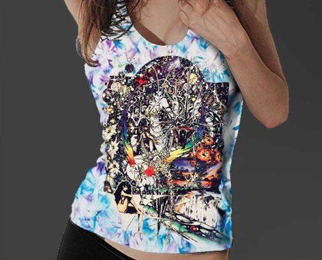 Dragon Lady - Fantasy Art Women's Tank Top